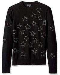 Just Cavalli - S Star Sweatshirt - Lyst