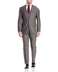 Perry Ellis Three Piece Suit - Gray