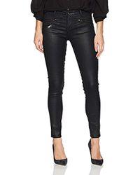 AG Jeans - Leatherette Legging Ankle Moto - Lyst