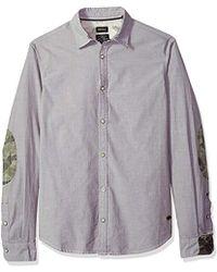 Buffalo David Bitton Sopras Long Sleeve Button Down Shirt - Multicolor