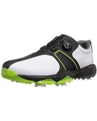 best loved 48f3f 9c8d3 adidas - 360 Traxion Boa Wd Cblack Golf Shoe - Lyst