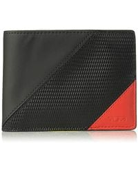 ca07584c9403 Lyst - Tumi Double Billfold Wallet With Id Lock in Black for Men