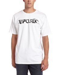 Rip Curl Zissed Up T-shirt,white,large