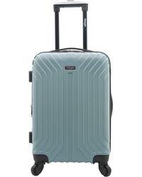 "Wrangler 20"" Carry-on Auburn Hills Luggage - Blue"