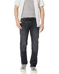 Hudson Jeans Byron 5 Pkt Straight Zip Fly Denim - Blue
