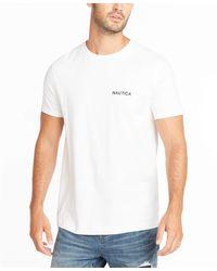 Nautica Short Sleeve Solid Crew Neck T-shirt - White