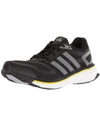 Lyst Adidas Energy Boost M Running Shoe In Black For Men