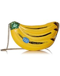 Betsey Johnson - Let's Split Bananas Shoulder Bag - Lyst