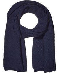 Steve Madden Knit Scarf Schal für kaltes Wetter - Blau