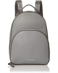 Calvin Klein Estelle Novelty Backpack - Gray