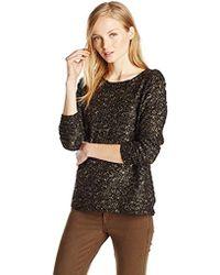 Jessica Simpson Johanna Pullover Sweatshirt - Black