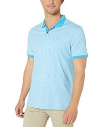Calvin Klein - Liquid Touch Polo Stripe With Uv Protection - Lyst