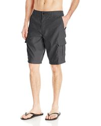 O'neill Sportswear 21 Inch Outseam Cargo Pocket Hybrid Stretch Walk Short - Gray