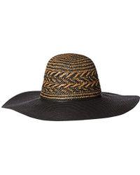 BCBGeneration - Feather Weave Floppy Hat - Lyst