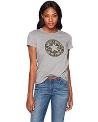Converse - Chuck Patch Camo Fill Short Sleeve Crew T-shirt - Lyst