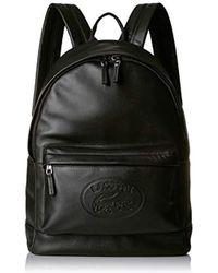 913af4a718 L.12.12 Cuir Casual Backpack - Black