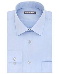 Geoffrey Beene - S Dress Shirts Fitted Textured Sateen Spread Collar - Lyst