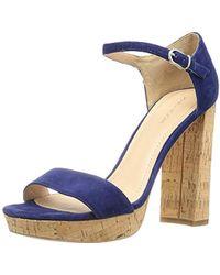 30d5ea3bb5357d Lyst - Pour La Victoire Yvette Dress Sandal in Natural