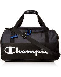 Champion Unisex Adult Duffel Bag - Black