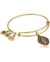 ALEX AND ANI - Mother Mary Iii Ewb Bangle Bracelet - Lyst