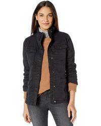 Goodthreads Cargo Cotton Lightweight Jacket - Black