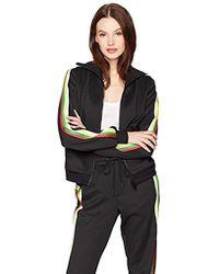 Pam & Gela - Track Jacket With Rainbow Sportstripes - Lyst