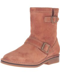 Hush Puppies Aydin Catelyn Boot,cognac Suede,6.5 M Us - Brown