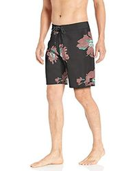 Rip Curl Mirage Conner Flyer Stretch Board Shorts - Black