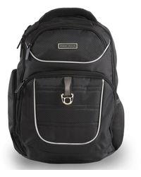 Perry Ellis P13 Business Laptop Backpack With Tablet Pocket - Black