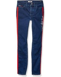 Tommy Hilfiger Adaptive Jegging Jeans With Velcro Brand Closure And Magnetic Fly - Multicolor