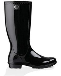 14660226a43 UGG Stephanson Rain Boot in Black - Lyst