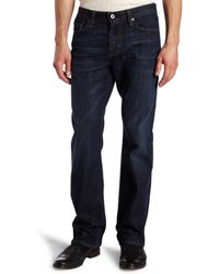 AG Jeans The Protégé Straight Leg Jean In Hunts - Blue