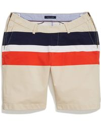 Tommy Hilfiger Adaptive Seated Fit Chino Shorts With Zipper Closures At Side Seams - Multicolor