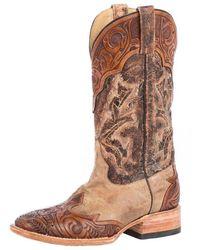 Stetson Kedge Western Boot - Brown