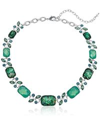 Napier - Green Abalone Stone Collar Necklace - Lyst