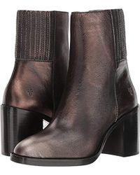 Frye Pia Chelsea Short Boot - Multicolor