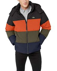Lacoste Colourblock Puffer Jacket - Multicolor