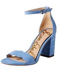 Sam Edelman Odila Heeled Sandal - Blue