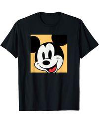 Amazon Essentials S Disney Mickey Mouse Comic Black T-shirt