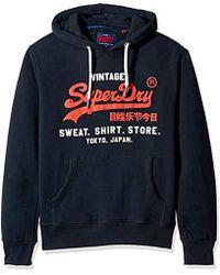Sweat Shirt Shop Duo Hoodie Sweatshirt Blue
