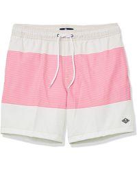 "Sperry Top-Sider 7"" Stretch Swim Trunks - Pink"