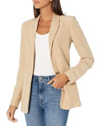 Guess Mercedes Pin Blazer - Natural