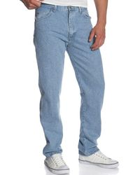 Wrangler Rugged Wear Classic Fit Jean - Blue