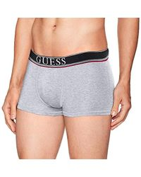 Guess - Symbol Boxer Trunks - Lyst