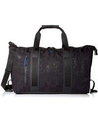 30901fd7f151 Armani Exchange - Rmni Exchnge Jcqurd Rubberized Fbric Weekender Bg - Lyst