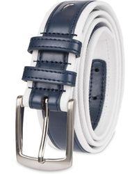 Nautica Casual Belt - Blue