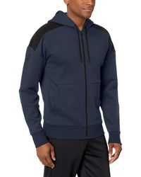 Peak Velocity Medium-weight Fleece Full-zip Loose-fit - Blue