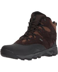 """Merrell Thermo Shiver 6"""" Waterproof Snow Boot - Brown"""