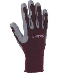 Carhartt Pro Palm C-grip Glove,dusty Plum,medium - Purple