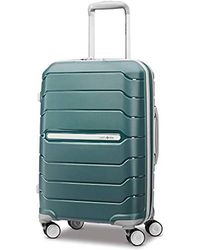 Samsonite Freeform Expandable Hardside Luggage With Double Spinner Wheels - Green